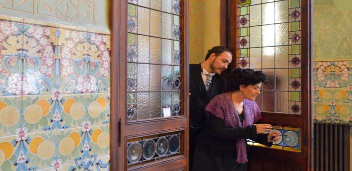 visita teatralitzada - Institut Pere Mata - reus