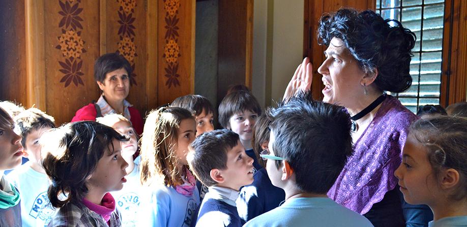 visita teatralitzada escoles - institut pere mata - reus
