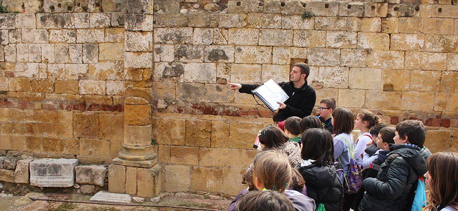 Visita teatralitzada escoles - Romans - Tarragona