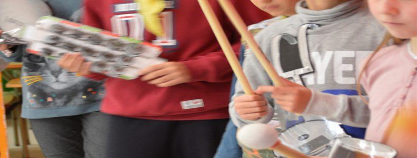 Activitats amb nens - Batucada Reciclada - Reus