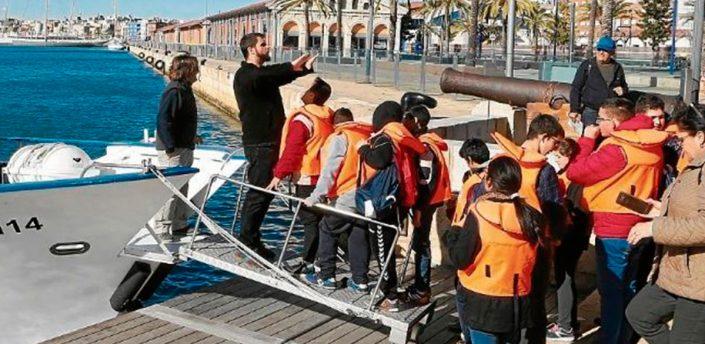 Visita escoles - Museu del Port - Tarragona
