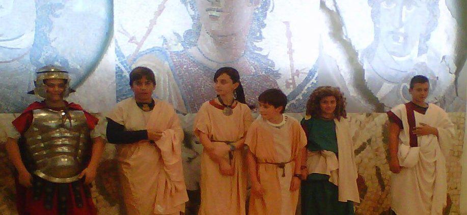 Visita teatralitzada - Museu arqueologic romans - Tarragona